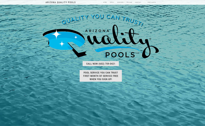 Arizona Quality pools