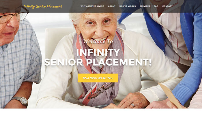 Infinity Senior Placement