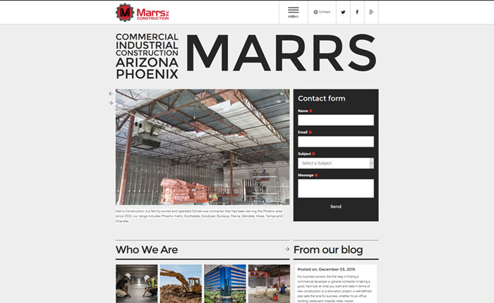 Marrs Construction
